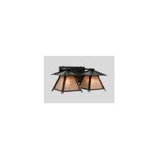 Sticks Cascade 2 Light Vanity Wall Sconce
