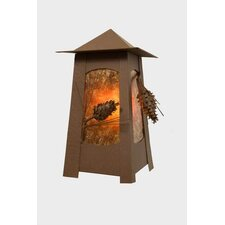 Ponderosa Pine Mesa 1 Light Outdoor Wall Lantern