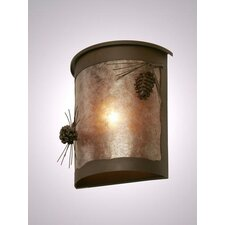 Ponderosa Pine 1 Light Outdoor Wall Lantern