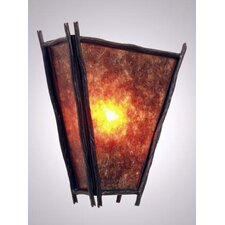 Sticks Vegas 1 Light Wall Sconce