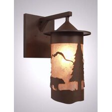 Bear Pasadena 1 Light Oudoor Wall Sconce