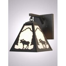 Moose Timber Ridge Hanging 1 Light Wall Sconce