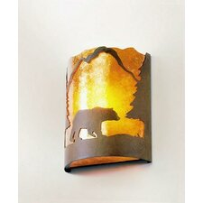 Bear Timber Ridge 1 Light Wall Sconce