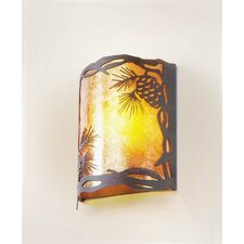 Pinecone Timber Ridge 1 Light Wall Sconce