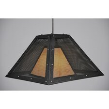 Rogue River Mesh 1 Light Swag Hanging Lantern