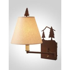 <strong>Steel Partners</strong> Timber Ridge Swing Arm Wall Lamp