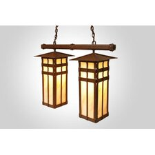San Carlos Double Anacosti Light Pendant