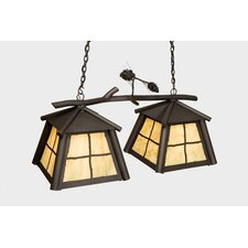 Saranac Double Anacosti Light Pendant