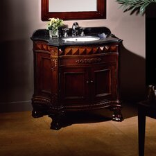 "<strong>Ove Decors</strong> Hamburg 36"" Single Bathroom Vanity Set"