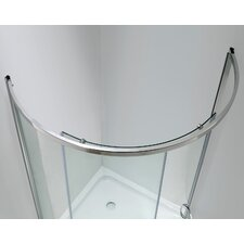 <strong>Ove Decors</strong> Breeze Premium Sliding Door Shower Package Without Walls