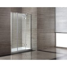 <strong>Ove Decors</strong> 60'' Glass Pivot Door Shower Enclosure