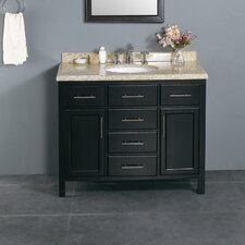 "Milan 42"" Single Bathroom Vanity Set"