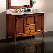 "Bordeaux 50"" Single Bathroom Vanity Set"