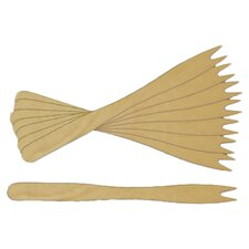 Wooden Forked Skewer (Set of 1000)