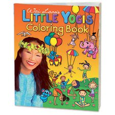 Little Yogis Kids Coloring Book