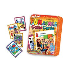 Little Yogis Kids Fun Songs Game Cards