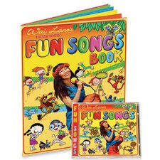Little Yogis Fun Songs CD and Lyrics Book