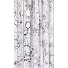 Abstract PEVA Shower Curtain