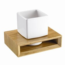 Kingston Solid Oak Tumbler and Holder