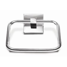 Brompton Chrome Wall Mounted Towel Ring