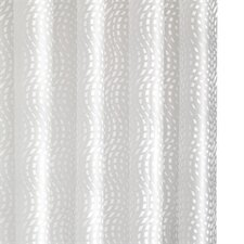 Mosaic Wave PEVA Shower Curtain
