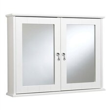 """Ribble 27.56"""" x 20.86"""" Mirrored Wall Mounted Cabinet"""