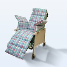 Geri-Chair Comfort Seat in Plaid