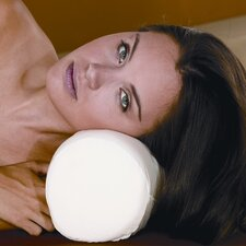 Cervical Pillow Roll in White