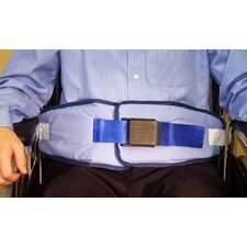 Resident-Release Cushion Belt with Resident-Friendly Buckle