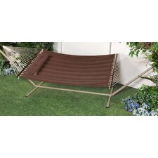"<strong>Bliss Hammocks</strong> ""S"" Stitched Comfort Classic Hammock with Stand"