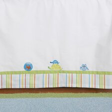 <strong>The Little Acorn</strong> Funny Friends Bed Skirt