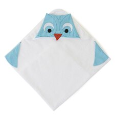 <strong>The Little Acorn</strong> Funny Friends Owl Hooded Towel