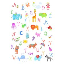 Alphabet Adventure Canvas Art