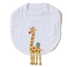 Alphabet Adventure Giraffe Bib