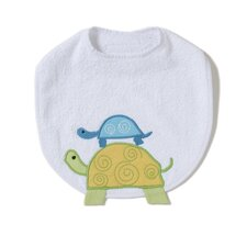 <strong>The Little Acorn</strong> Alphabet Adventure Turtle Bib