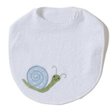 <strong>The Little Acorn</strong> Alphabet Adventure Snail Bib