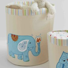 <strong>The Little Acorn</strong> Funny Friends Elephant Toy Storage Bin