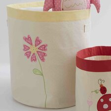 <strong>The Little Acorn</strong> Natureland Fairies Flower Toy Storage Bin