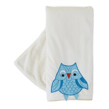 <strong>The Little Acorn</strong> Funny Friends Owl Blanket