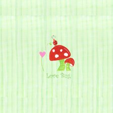 <strong>The Little Acorn</strong> Alphabet Adventure Love Bug Mushroom Wall Art