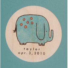 <strong>Tree by Kerri Lee</strong> Elephant Picture Frame in Distressed Turquoise