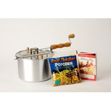 <strong>Wabash Valley Farms</strong> Whirley Pop Stovetop 6 Quart Popcorn Popper