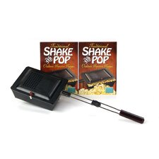 96 Ounce Traditional Shake and Pop Outdoor Popcorn Popper