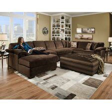 Dahlia Sectional with Sleeper