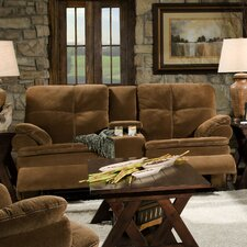 Oak Reclining Loveseat