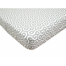 <strong>American Baby Company</strong> Percale 100% Cotton Fitted Crib Sheet