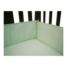 Percale Crib Bumper