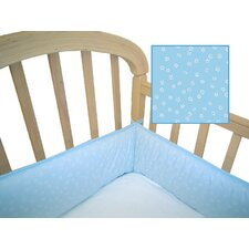 Percale Cotton Cradle Bumper
