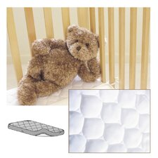 <strong>American Baby Company</strong> Waterproof Quilted Bassinet Mattress Cover