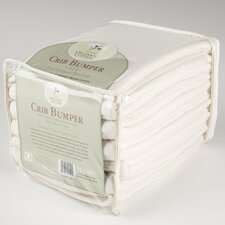 Organic Cotton Velour Mini Crib Bumper